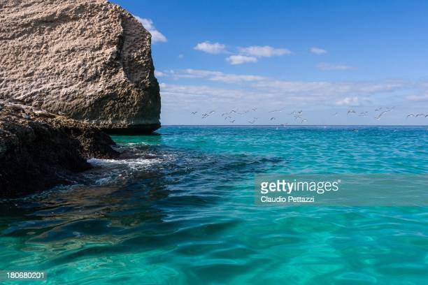 The Indian Ocean at the island of Socotra