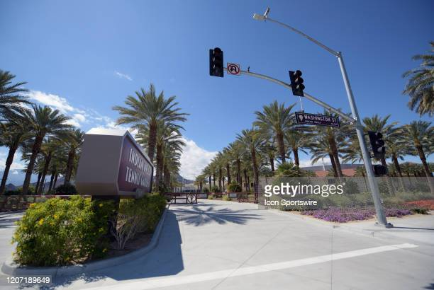 The Indian Wells Tennis Garden remains closed on March 14 2020 on a day that should have been one of the busiest days of the 2020 BNP Paribas Open...