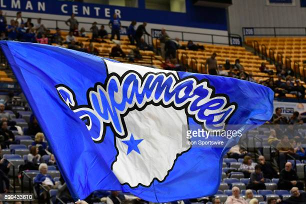 The Indiana State University Sycamores flys during the game against the Valparaiso University Crusaders Thursday December 28 on Nellie and John...