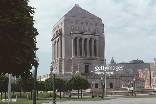 The Indiana World War Memorial in Indianapolis Indiana circa 1960