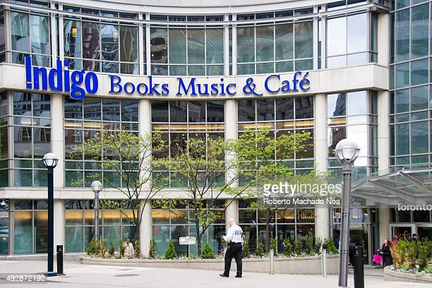 The Indigo Books Music and Cafe building in Toronto Indigo Books Music Inc is a Canadian retail bookstore chain founded in 1996