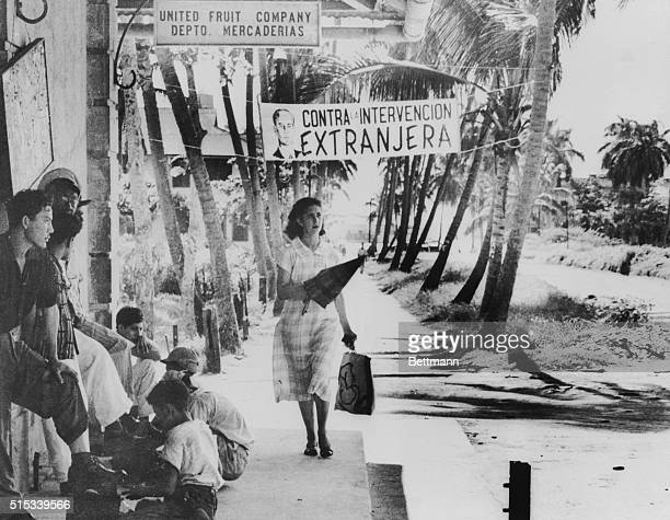 The indolent atmosphere of the coastal city of Puerto Barrios was smashed on June 18th 1954 when uprising anticommunist exiles bombed the town and...