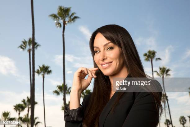 The infamous 'Poker Princess' Molly Bloom is photographed for Los Angeles Times on November 29 2017 in Los Angeles California PUBLISHED IMAGE CREDIT...