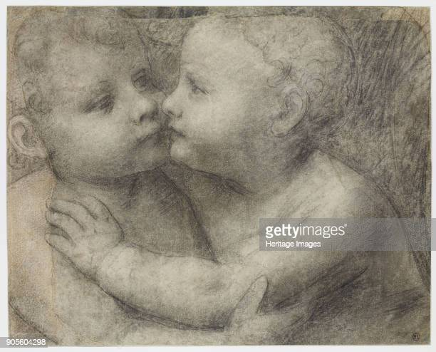 The Infants Christ and Saint John the Baptist Embracing Found in the Collection of École nationale supérieure des beauxarts Paris