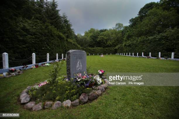 The infants graveyard at Sean Ross Abbey in Roscrea Tipperary which was mother and baby home operated by the Sisters of the Sacred Hearts of Jesus...