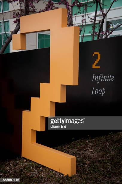 The Infinite Loop at the Apple campus