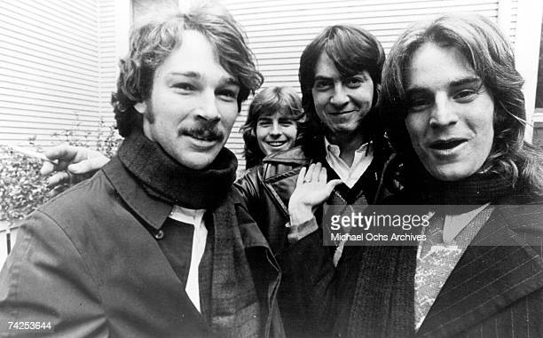 The influential rock band Big Star LR Chris Bell Jody Stephens Andy Hummel and Alex Chilton pose for a portrait circa 1972
