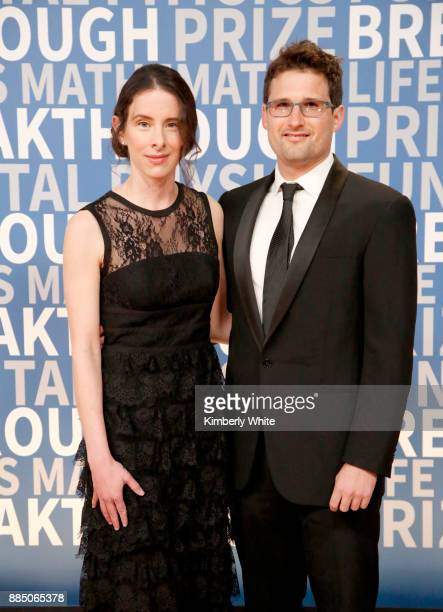 The Information EditorInChief Jessica Lessin and Sam Lessin attend the 2018 Breakthrough Prize at NASA Ames Research Center on December 3 2017 in...