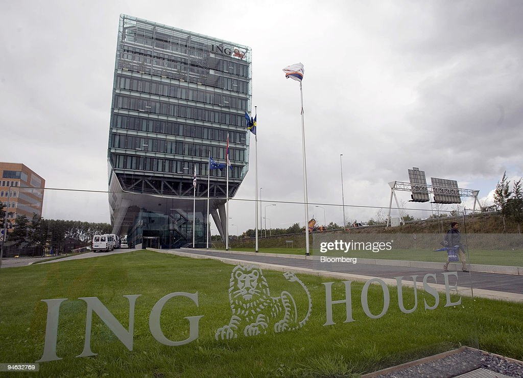 Ing Kantoor Amsterdam : The ing bank headquarters is seen in amsterdam the netherlands