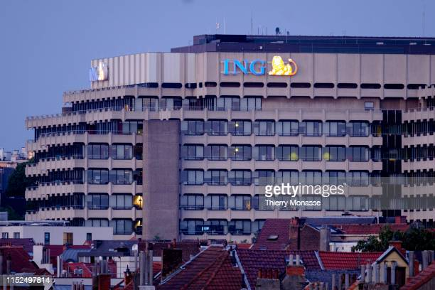 The ING Etterbeek Cours Saint Michel bank in Brussels The ING Group is an international bancassurance financial institution of Dutch origin formed in...