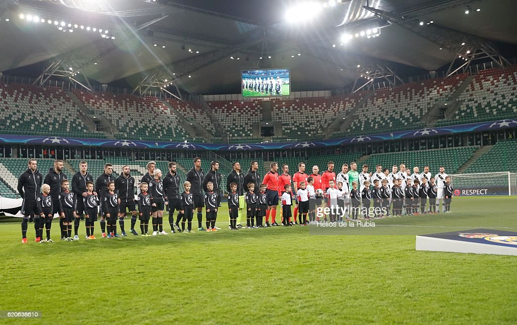 Legia Warszawa v Real Madrid CF - UEFA Champions League : News Photo