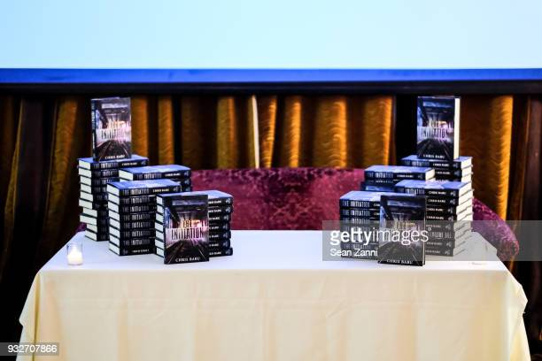 The Initiation Book Launch at Bouley TK on March 15 2018 in New York City