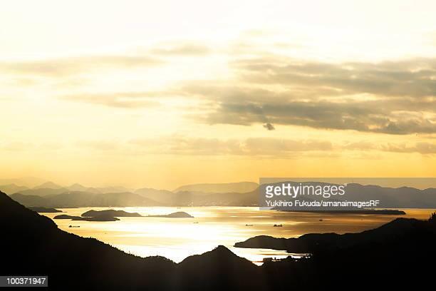 The Inland Sea of Japan, Kagawa Prefecture, Shikoku, Japan