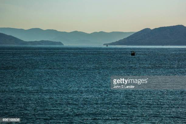 SEA SHODOSHIMA KAGAWA JAPAN The Inland Sea or 'Seto Naikai' as it is known in Japanese is the body of water separating Honshu Shikoku and Kyushu...