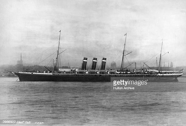 The Inman liner SS City of Paris at one of the ports on the Liverpool Queenstown New York service She subsequently went through numerous incarnations...