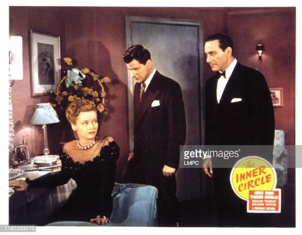The Inner Circle lobbycard Adele Mara Warren Douglas Ricardo Cortez 1946