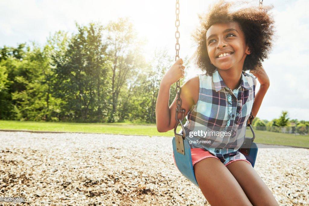 The innocence of childhood : Stock Photo