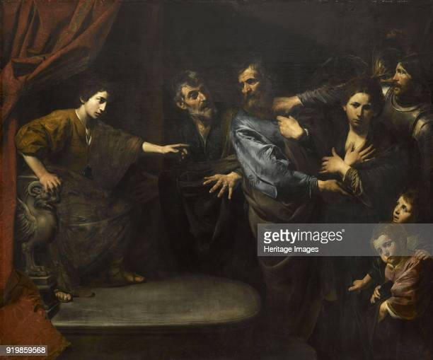 The innocence of Susanna or The judgement of Daniel 16211622 Found in the collection of Musée du Louvre ParisFine Art Images/Heritage Images/Getty...