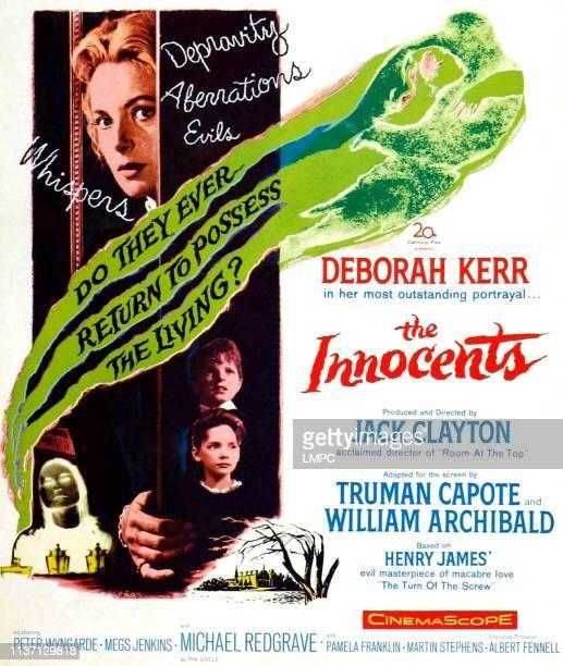 Deborah Kerr bottom Martin Stephens Pamela Franklin on poster art 1961