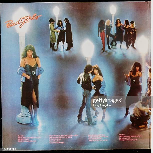 The inside left panel of the Donna Summer album 'Bad Girls' released in 1979