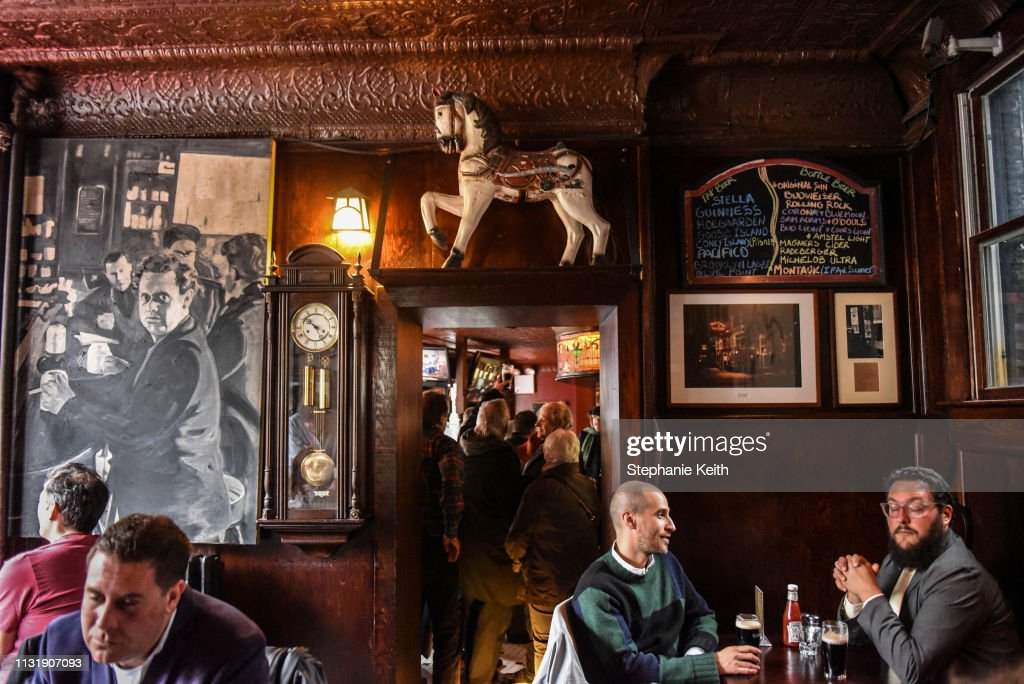 NY: Protest Held At Iconic Greenwich Village Bar, The White Horse Tavern, Over Its Change Of Ownership