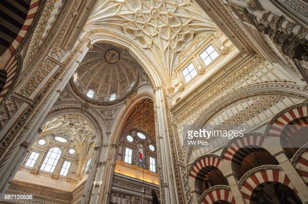 The inside of the MosqueCathedral of Cordoba It was originally a Catholic Christian church built by the Visigoths Upon the muslim conquest of Spain...