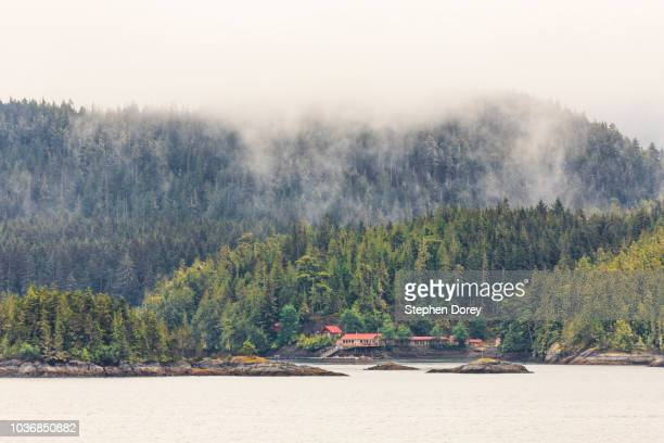 inside passage near hanson island at