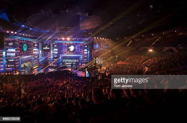 The Intel Extreme Masters CounterStrike esports tournament being held in the Spodek Arena in Katowice on March 3rd 2017 in Poland
