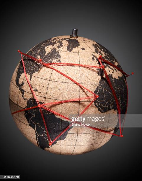 the interconnected planet - global village stock pictures, royalty-free photos & images
