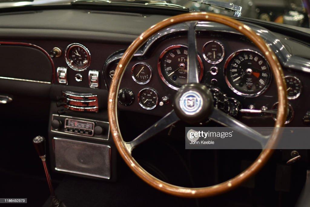 The Interior Dashboard Of A 1968 Aston Martin Db6 Volante 550 000 News Photo Getty Images