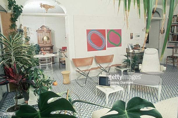 The interior of a 1960's flat.