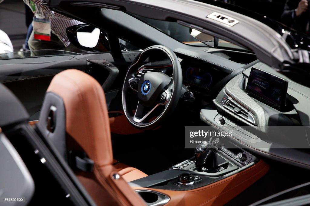 Inside Automobility LA Ahead Of The Los Angeles Auto Show : News Photo