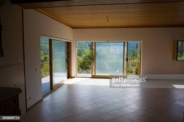PISAO COJA COIMBRA PORTUGAL The interior of a brand new house built by a Portuguese real estate developer and aimed at foreign buyers The house is...