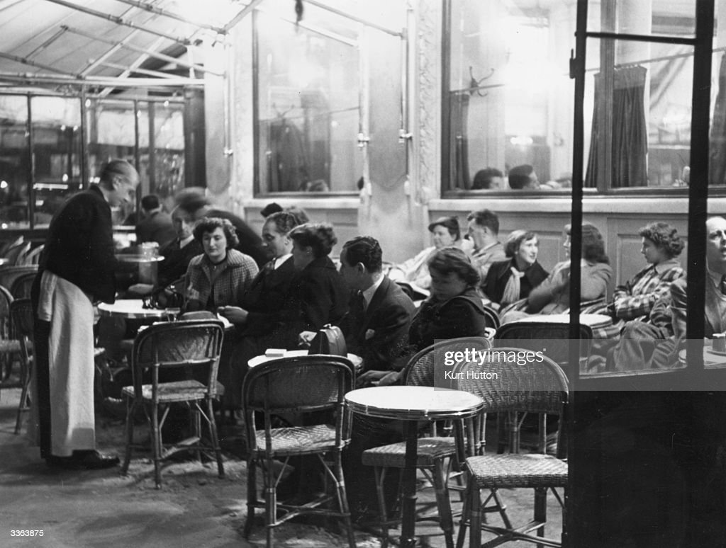 The Interior Of A Cafe In Paris Original Publication Picture Post News Photo Getty Images