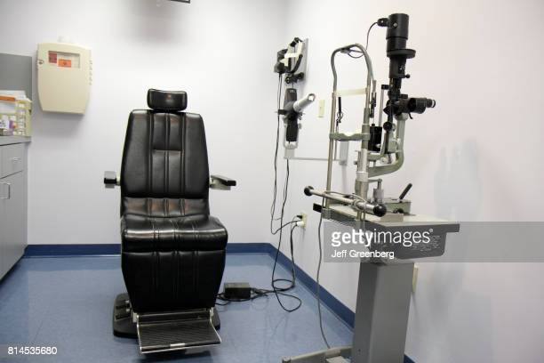 The interior of an exam room at the Mount Sinai Medical Center