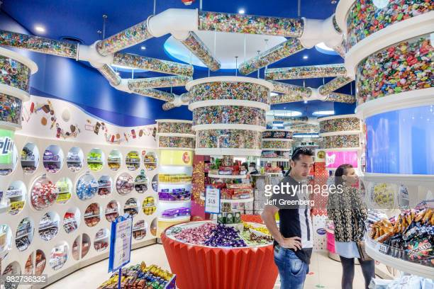 The interior of Arcor Center candy store