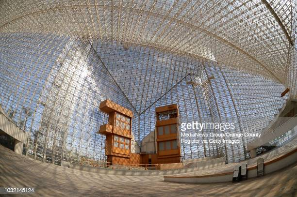 The interior of Christ Cathedral in Garden Grove on March 13, 2016. The church, formerly known as Crystal Cathedral, is under going a year-long rehab...