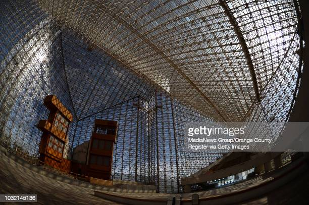 The interior of Christ Cathedral in Garden Grove on March 13 2016 The church formerly known as Crystal Cathedral is under going a yearlong rehab that...