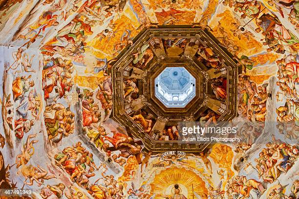 The interior of Florence cathedral in Italy.