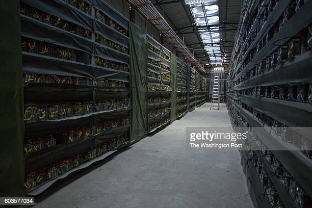 KONGYUXIANG GARZE SICHUAN CHINA AUGUST 12 The interior of Haobtc's bitcoin mine is pictured near Kongyuxiang Sichuan China