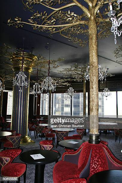 The interior of JeanGeorges Steakhouse in of the new Time Warner Building in Columbus Circle is seen April 29 2004 in the Manhattan borough of New...