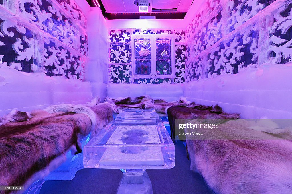 Minus5 ice bar press preview photos and images getty images the interior of minus5 ice bar at the new york hilton hotel is seen on july sciox Images
