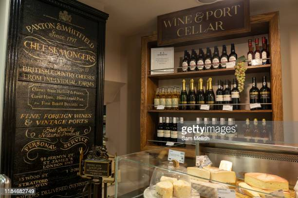 The interior of Paxton Whitfield shop on Jermyn Street on the 26th September 2019 in London in the United Kingdom