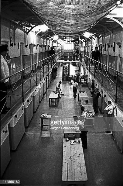 The interior of Pentonville Prison London 1967