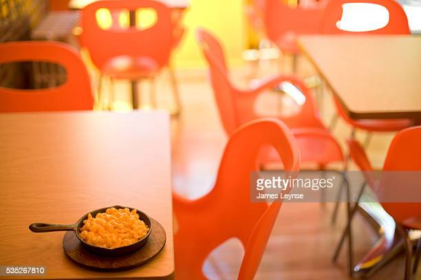 The interior of S'MAC a new macaroni and cheese restaurant which has opened on E 12th Street