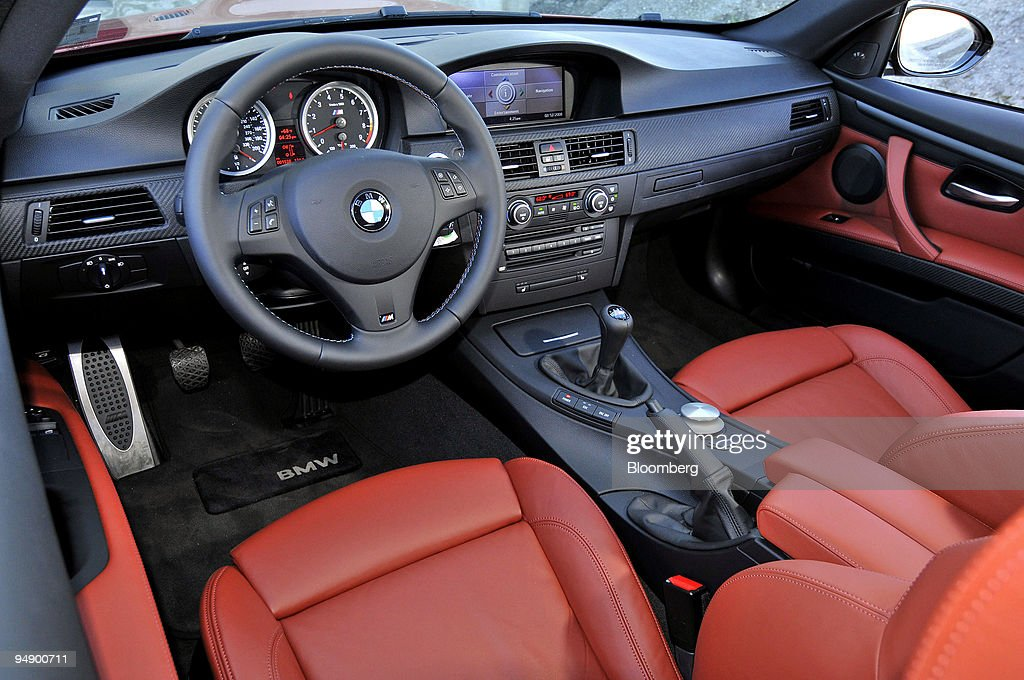 The Interior Of The 2008 Bmw M3 Coupe Is Photographed In Monterey