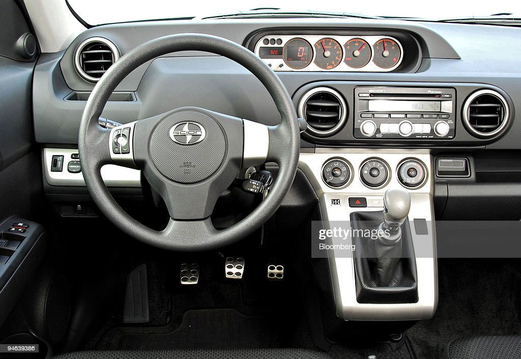 The Interior Of The 2008 Scion XB Is Shown To Members Of The Media In  Atlanta