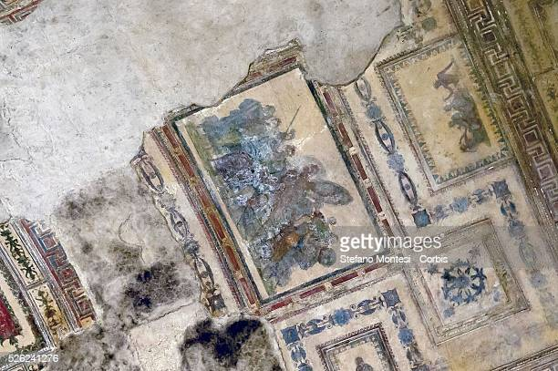 The interior of the Domus Aurea Achilles on Skyros Room the vault The Ministry for Cultural Heritage December 27 2015 has allocated 13 million euro...