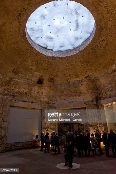 The interior of the Domus Aurea Octagonal Room