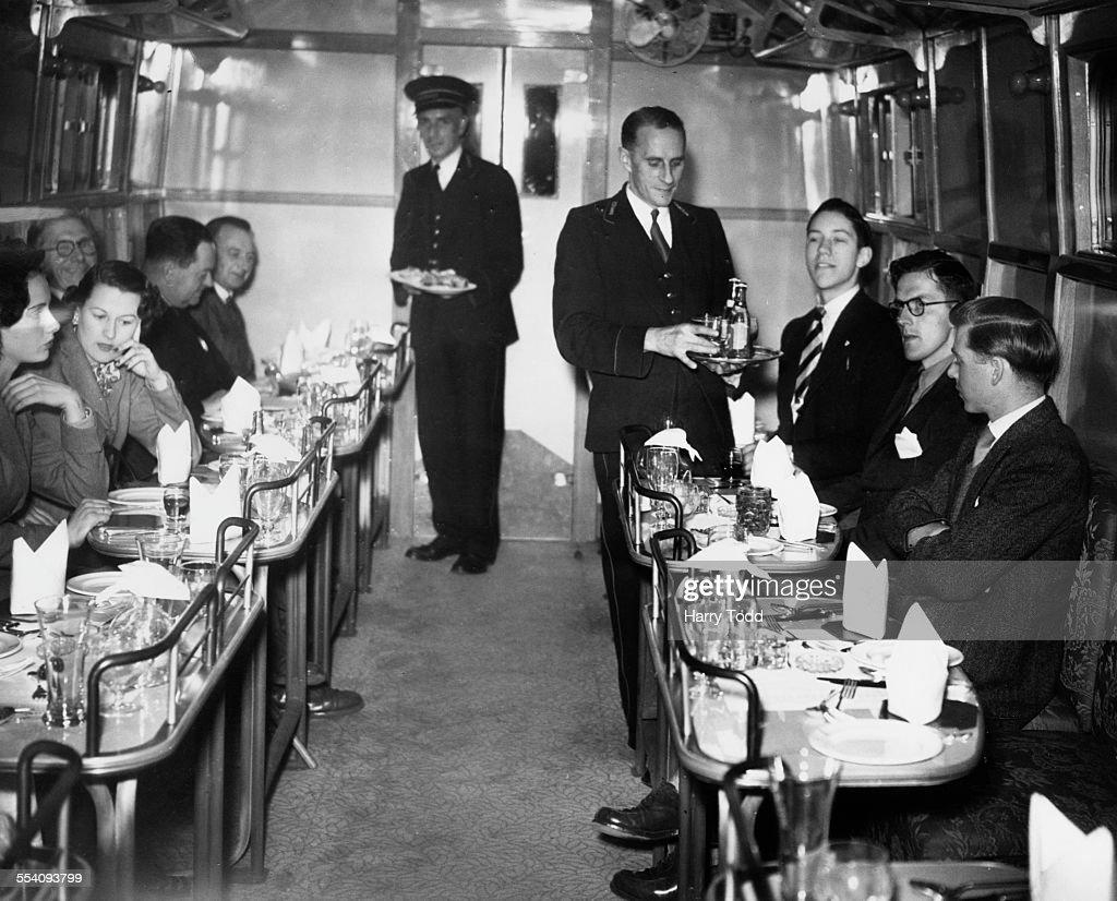 British Rail Dining Car : News Photo